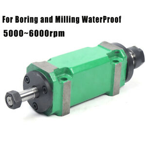 Power Milling boring Head 750w Spindle Waterproof Drilling Cutting Tool 5000rpm