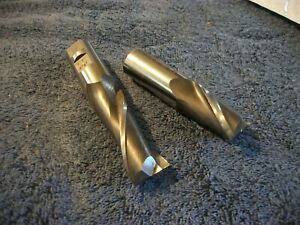 End Mill Lot 7 8 Shank Pro Regrind New 2 Flute Machinist Cutters Tool Tooling