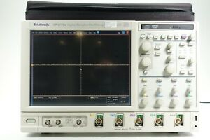 Tektronix Dpo7354 Digital Phosphor Oscilloscope 3 5 Ghz 4 Ch 40 Gs s W Opt