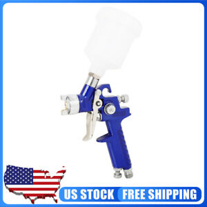 Hvlp H2000 0 8mm 1 0mm Nozzle Mini Air Spray Paint Gun Repair Tool Kit For Car