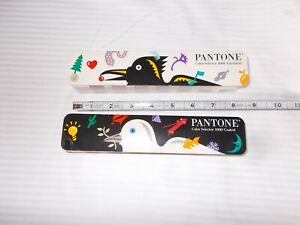 Pantone Color Selector 1000 Fan Book Coated uncoated Lot Of 2
