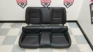 2010 2015 Camaro Ss Coupe Oem Rear Back Seats Seat Top Bottom Leather Black