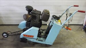 Target Walk Behind Concrete Saw With Wisconsin 9 2 Hp Gasoline Engine