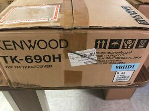 Kenwood Type 3 k3 40 50 Mhz Tk690h Low Band 110 Watts Transceiver new