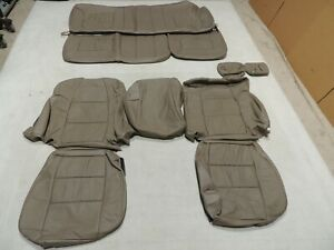 Leather Seats Upholstery Covers Fits Ford F250 F350 Super Cab Katzkin 01 07 T94