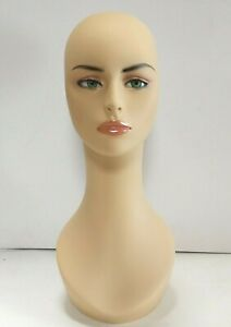 Less Than Perfect 318 e Female Mannequin Head Display Form With Pierced Ears