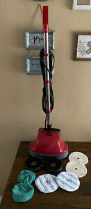 Pullman holt Gloss Boss Mini Floor Scrubber Buffer Brushes Pads Home Office