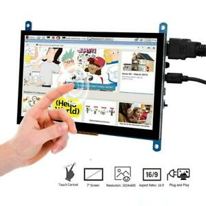 Touch Screen 7 Inch Lcd Display Hdmi Monitor With Case For Raspberry Pi 3 B 4b