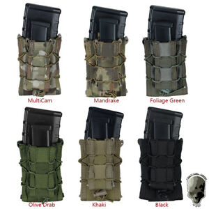 TMC Mag Pouch MOLLE Pouch Mag Carrier Military Airsoft Camo Hunting Gear Hunting $24.61