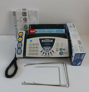 Brother Fax 575 Personal Plain Paper Fax Phone And Copier In Box Used