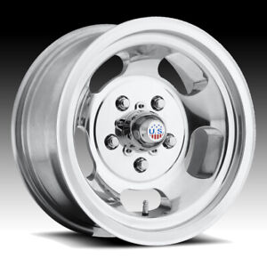 Us Mags U101 Indy Polished 15x9 5x5 5 12mm U10115908545