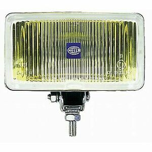 Hella Driving Fog Light Halogen 55 W Rectangular Shape Amber Light 005860221