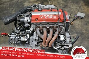Jdm Honda H22a Euro R Type S Vtec Engine 98 02 Accord Prelude 5spd Mt Lsd Trans
