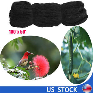 100 x50 Anti Bird Netting Garden Poultry Aviary Game Plant Protective 2 0 Mesh