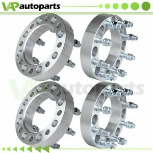 1 5 Thick 4pcs Wheel Spacers 8x6 5 9 16 Studs For Dodge Ram 2500 1994 2010