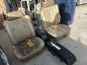 1969 Ford Galaxie 500 Xl Ltd Center Console And Bucket Seats