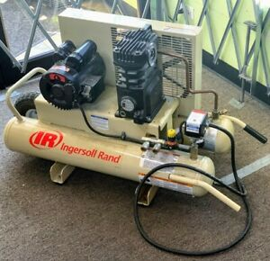 Ingersoll Rand 2 hp 8 gallon Electric Dual Voltage Air Compressor spg039410