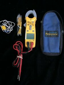 Fieldpiece Sc53 Dual Display Mini Clamp Meter With Case