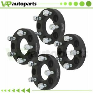 1 25mm 4pcs Wheel Spacers 5x114 3 12x1 5 For Toyota Pickup Honda Accord