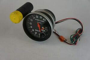 Autometer 3904 Sport Comp 5 Monster Tachometer 10k Rpm With Shift Light