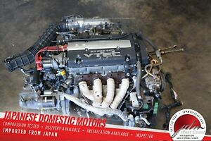Jdm Honda H22a Prelude Engine With 5 Speed Mt 92 96 Bb1 Bb4 Obd1 Dohc Vtec