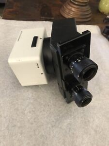 Leitz Wetzlar Vertical Illuminator Microscope Optics W Leitz Microscope Head