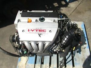 Honda Accord K24a 2 4l Engine Tsx Engine K24a Type S Engine 200hp At Tranny Mgta