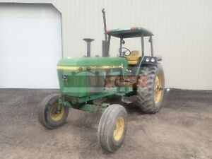 1982 John Deere 4040 Tractor Canopy Power Shift 2 Remotes 540 1000 Pto 7370 Hrs