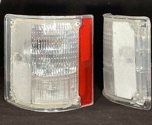 Clear Tail Lights 78 86 Chevy K5 Blazer 87 91 Blazer 73 91 Chevy Pickup Truck