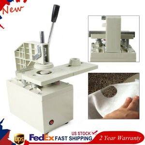 110v Curtain Eyelet Hole Grommets Punch Machine Punching Mcl k2 W 40mm Blades