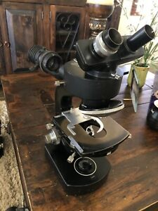 Wild Heerbrugg M20 50542 Microscope With 1 4x Vertical Illuminator And Head