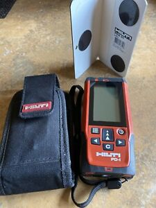 Hilti Pd i Laser Range Meter Distance Pulse Power New With Pouch pda 51 Card