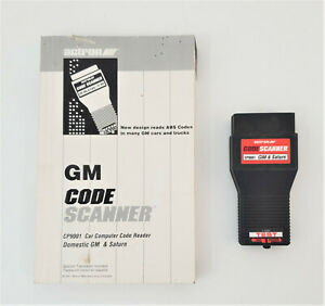 Actron Code Scanner With Guide Book Gm Saturn 1982 1993 Cp9001