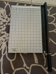 Boston 26915 15 Paper Cutter Guillotine Style Trimmer Scrapbooking Home School