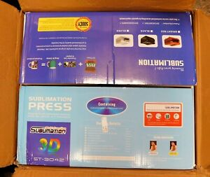 St 3042 3d Vacuum Sublimation Heat Press Machine For Phone Cases Mugs Printing