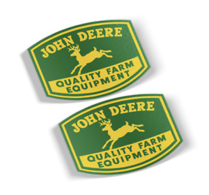 John Deere Decal Vinyl Sticker 2 Items Free Shipping