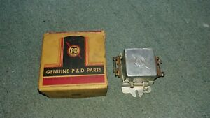 1930s 1940s Ford Lincoln Mercury Dual 6 Volt Headlight Relay P d Lr4 Dbl Fused