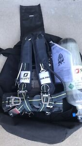 Scott 75i Scba And Luxfer Carbon Air Tank Usps Ground Shipping