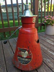 Vintage Acra Speed Tire Wheel Balancer Gas Station Shops Collector