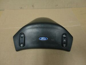 92 93 97 Ford Pickup Truck Bronco Steering Wheel Horn Center Pad Cruise Control