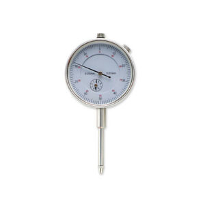 Shahe Dial Indicator Gauge 0 25 Mm 0 01 Mm Metric Dial Indicator With Back Lug