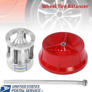 Professional Cars Truck Tire Hubs Wheel Balancer W Bubble Level Heavy Duty Rim
