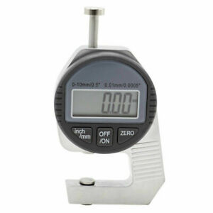 Mini Digital Thickness Gauge 0 01mm 0 10mm With Small Head Thickness Meter