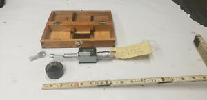 Mitutoyo 468 204 Digimatic Holtest 5 65 Inside Bore Gage Micrometer W ring