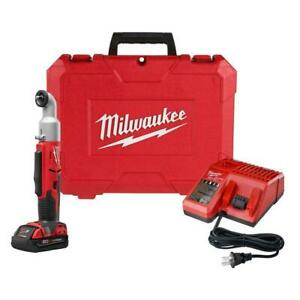 Milwaukee M18 Cordless 2 Speed 3 8 In Right Angle Impact Wrench