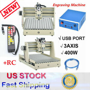 Usb 3 Axis Cnc 3040 Router Engraving Milling Engraver Machine Metal controller