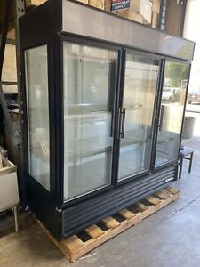 True Refrigeration Commercial Three Glass Door Refrigerator