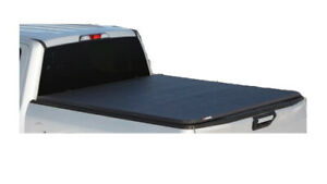 Leer Tonneau Cover Clamp On Made Of Vinyl Soft Fold 3 In Black 633301