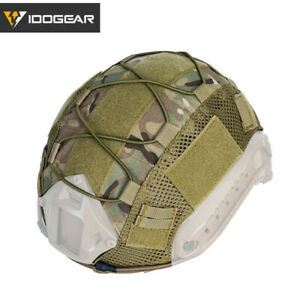 IDOGEAR Tactical Helmet Cover for FAST Helmet Army Military Airsoft Headwear $14.31