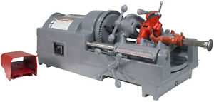 Reconditioned Ridgid 535 V2 Pipe Threading Machine Genuine Die Head And Dies